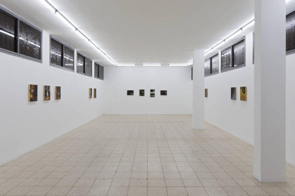 Light Motive, 2015, exhibition view, Dvir Gallery, Tel Aviv