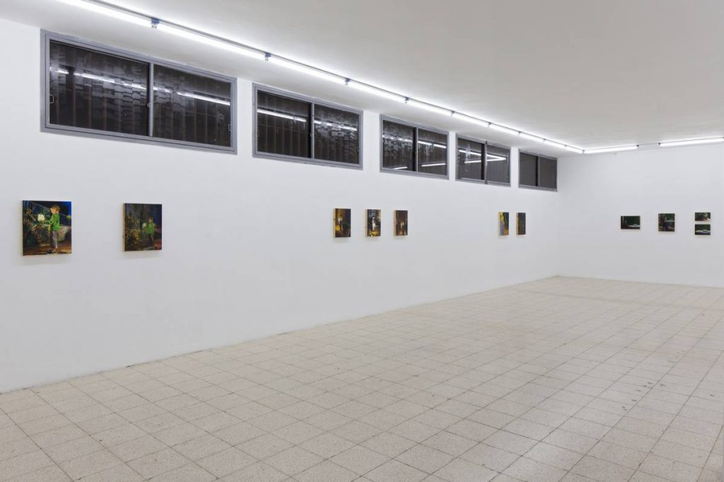 Light Motive, 2015, Exhibition view
