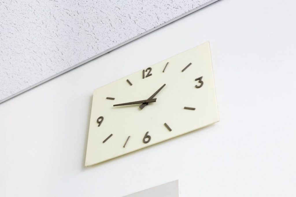 Yossi Breger, Clock#2, Tokyo, 2012, color photograph, 24.1x32.9 cm, edition of 5