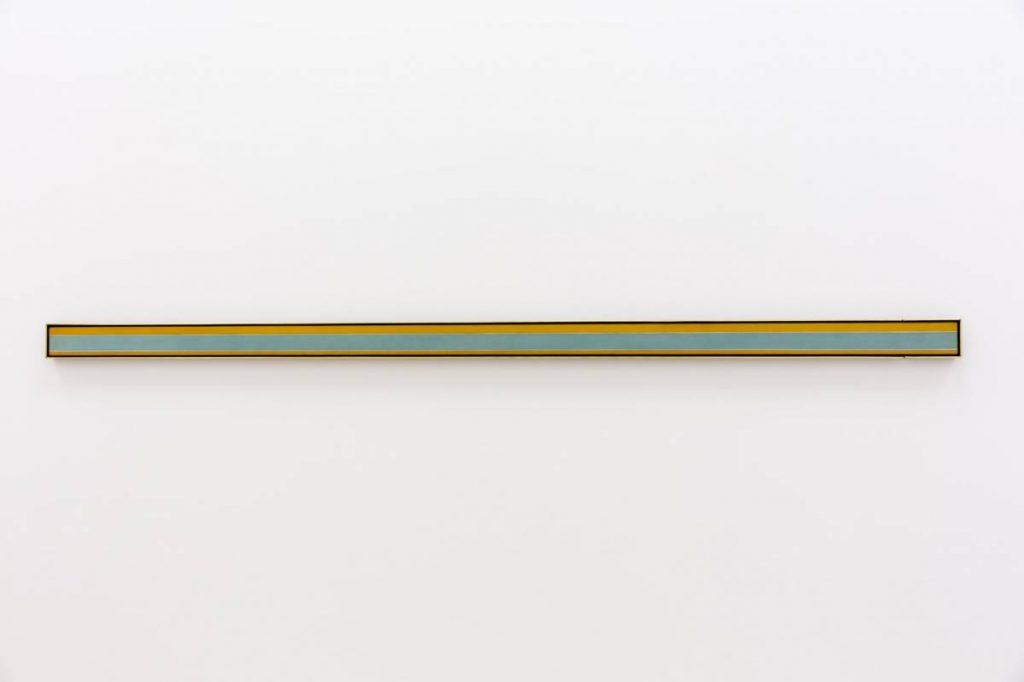 Yossi Breger, Line (Ranging, Kenneth Noland, 1969), 2013, MMK Museum für Moderne Kunst, Frankfurt, 24.1 × 32.9 cm