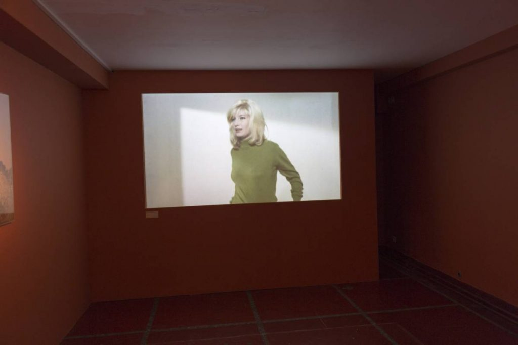 Yossi Breger, Monica Vitti (in Audition for Michaelangelo Antonioni, 1963), Bozar, Brussels, 2013, 24.1×32.9 cm