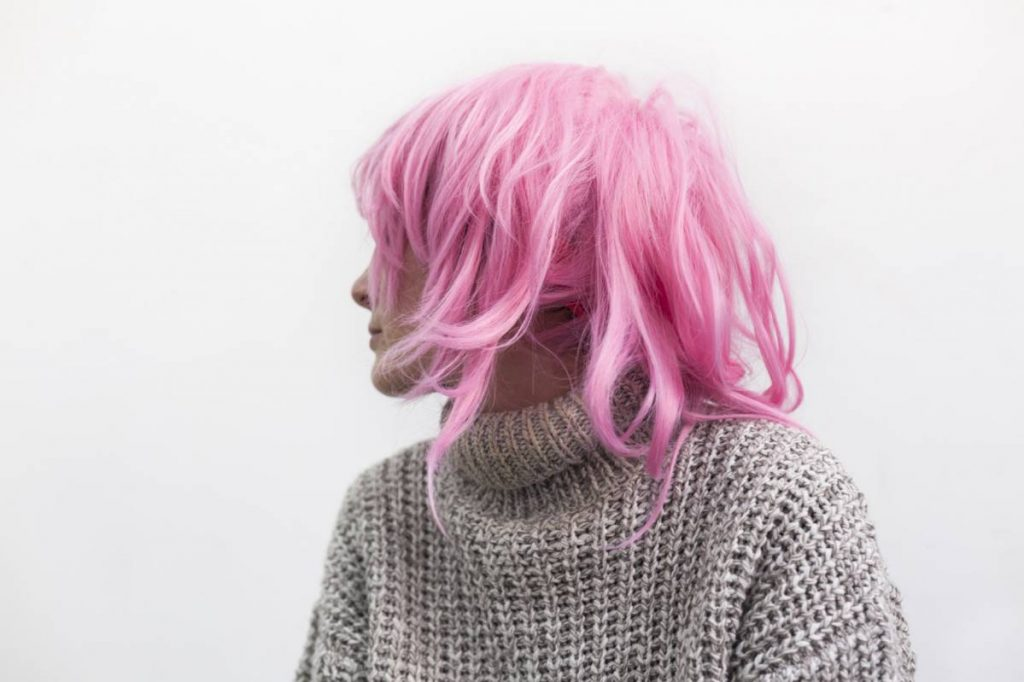 Yossi Breger, Ophra with Pink Wig, Tel Aviv, 2010, 43.2x55.9 cm, edition of 5