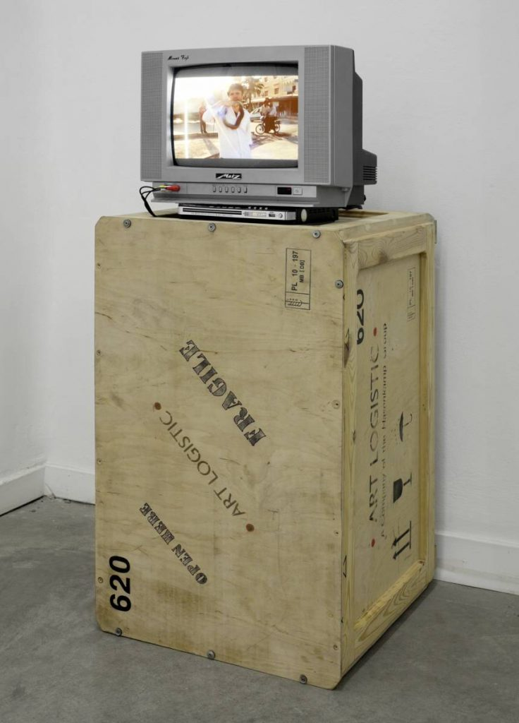 Adel Abdessemed, Dead or Alive, 2007, 1 second video loop, edition of  5