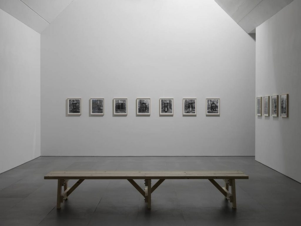 Dor Guez, The Nation's Groves, Pines, 2011, exhibition view, Carlier Gebauer, Berlin