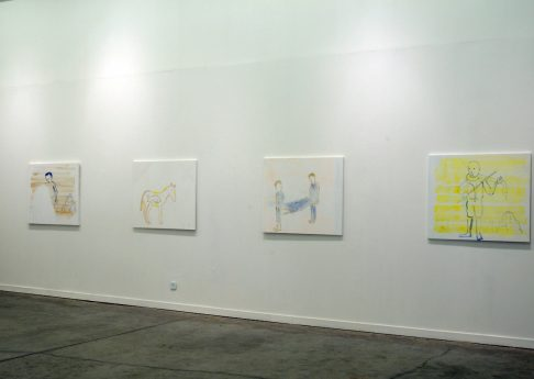 Who didn't come, 2010, Exhibition view