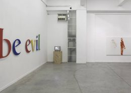 Evil is Here, 2012, Exhibition view