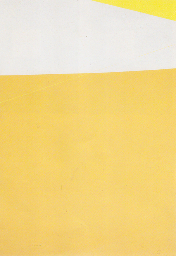 Michael Gross, Desert landscape, 1971, Silkscreen, 2 colours