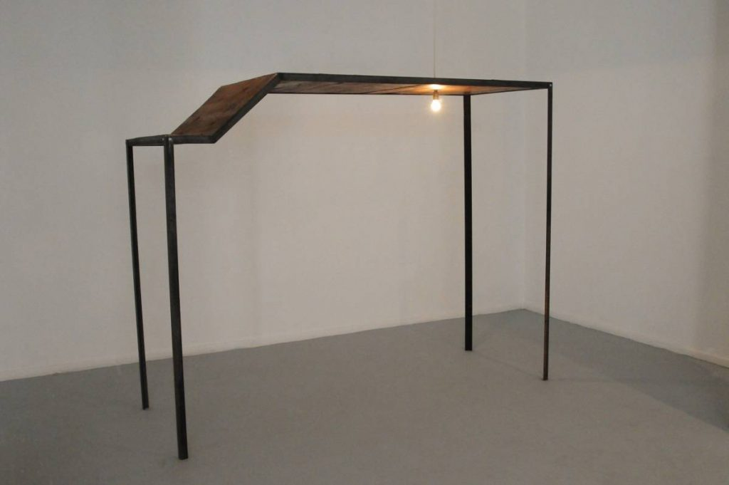 Miroslaw Balka, 255x200x91, 2010, steel, wood, unique