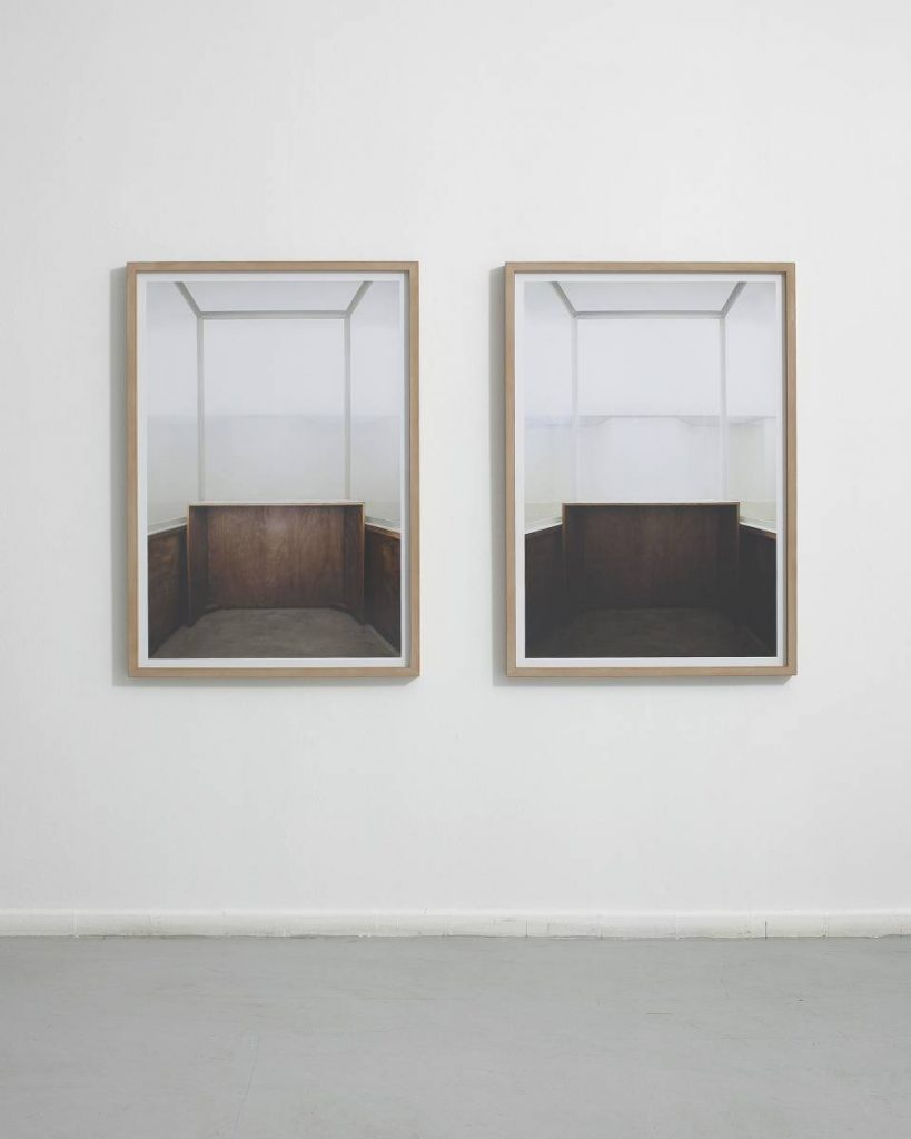 Moshe Ninio, Glass, 2011, two units, archival pigment print, 100 x 77 cm