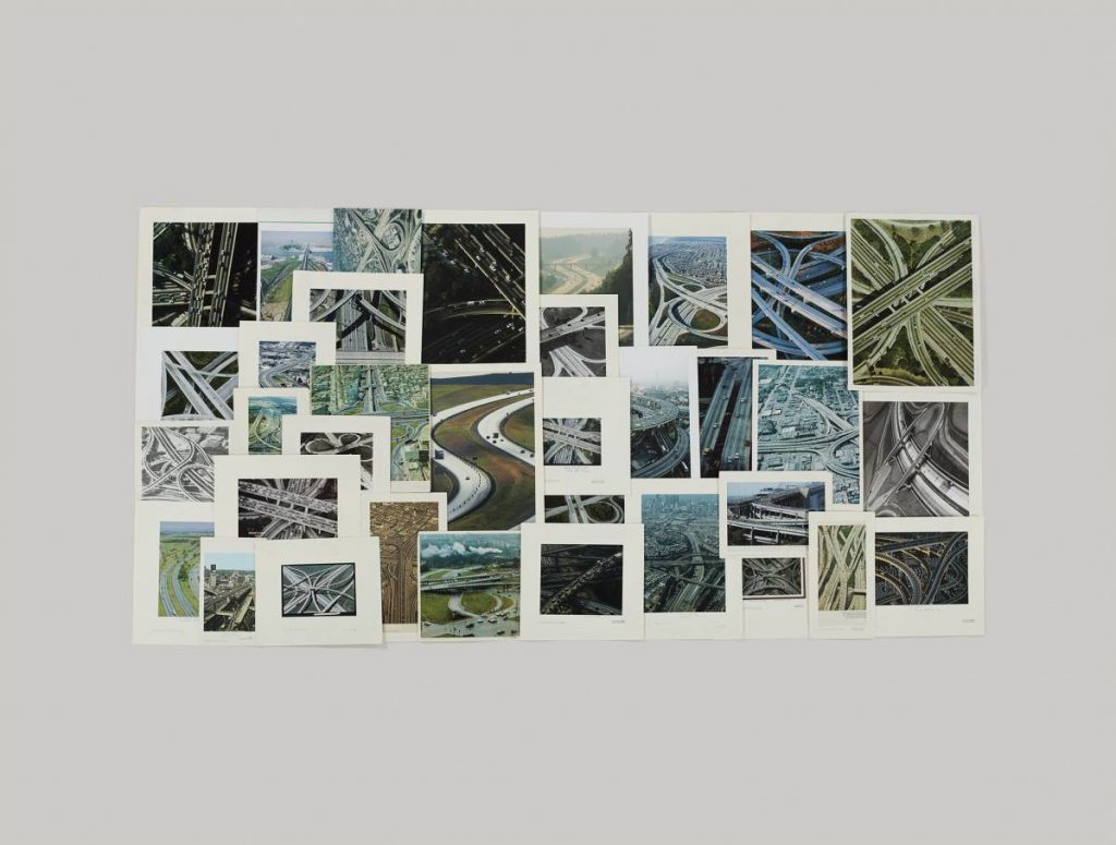 Taryn Simon, Folder: Express Highways, 2012, Archival inkjet print, 119.4 x 157.5 cm framed, edition 4 of 5