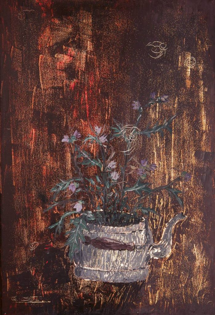 Dor Guez, The Painter, Scanogram 8, 2015, archival inkjet print, 62.95x43cm
