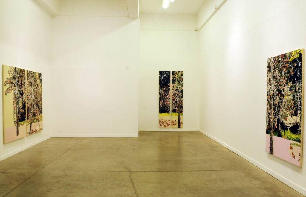 Place Filler, 2010, exhibition view
