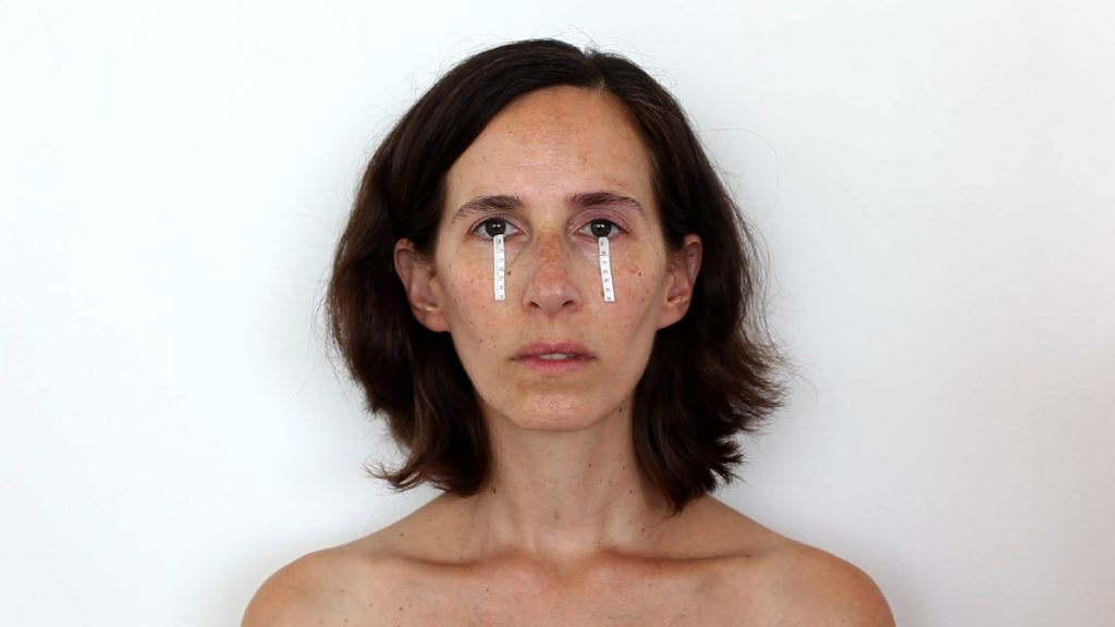 Nelly Agassi, Tear-Meter, 2009, one channel video, 3:06 min, edition of 3 + 1 AP