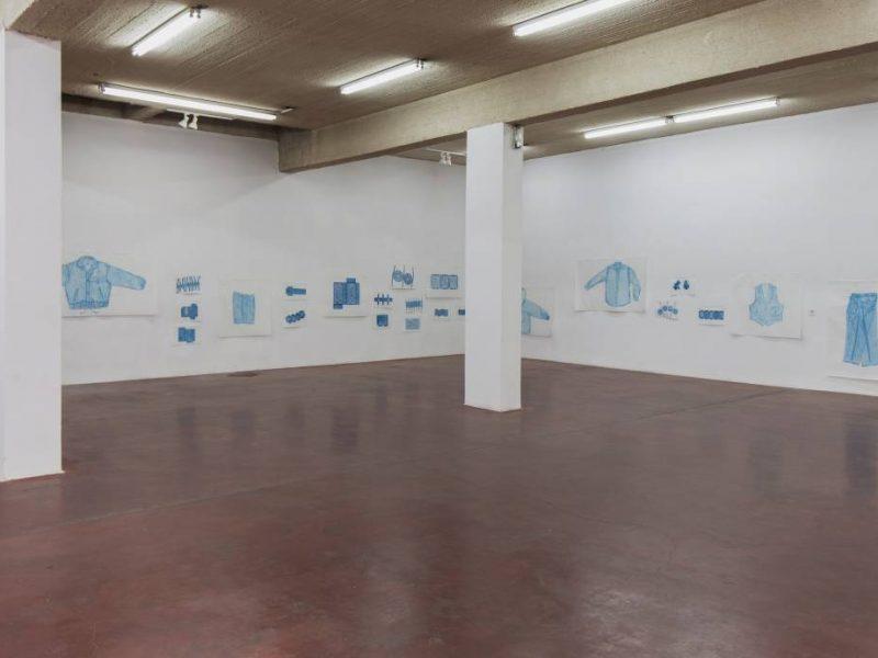 Jennifer Bornstein, New Rubbing, 2016, Exhibition view