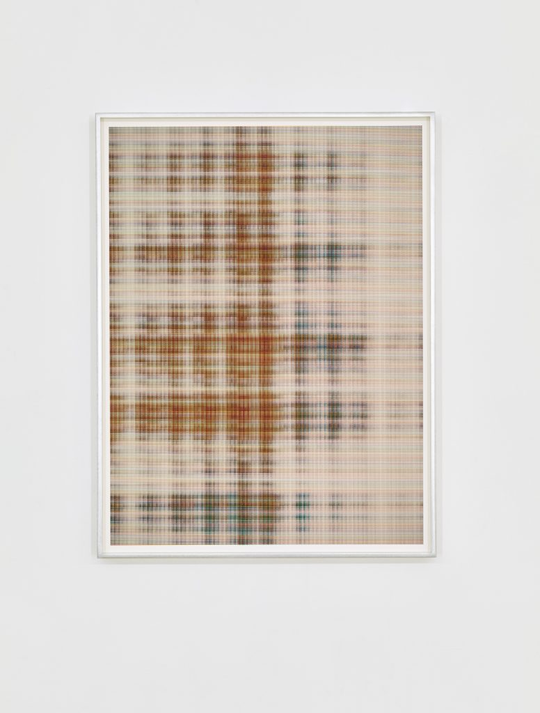 Matan Mittwoch, Step-13 [X], 2016, Inkjet-print on Baryte paper, framed, 67.2x51.2cm, Edition of 3 + 1 AP