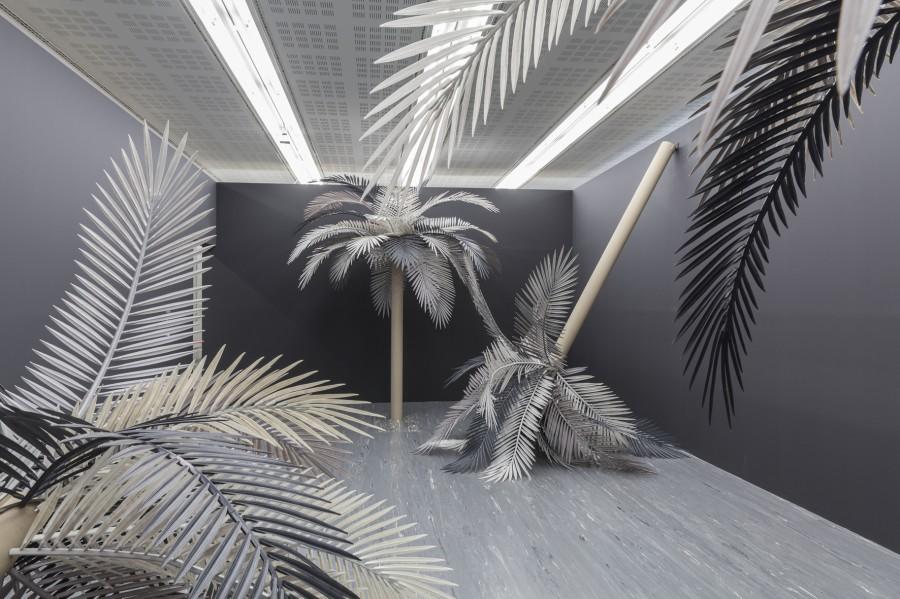 Sarah Ortmeyer, KOKO, exhibition view, 21er Haus Belvedere, Vienna 2016