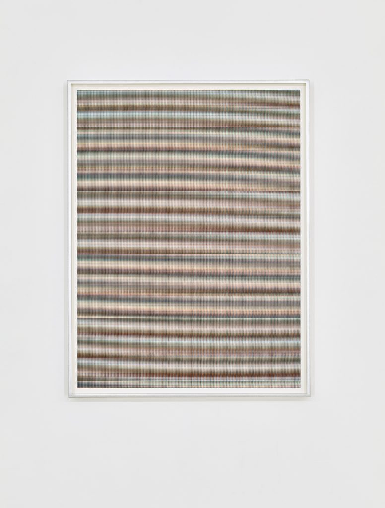 Matan Mittwoch, Step-13 [III], 2016, Inkjet-print on Baryte paper, framed, 67.2x51.2cm, Edition of 3 + 1 AP