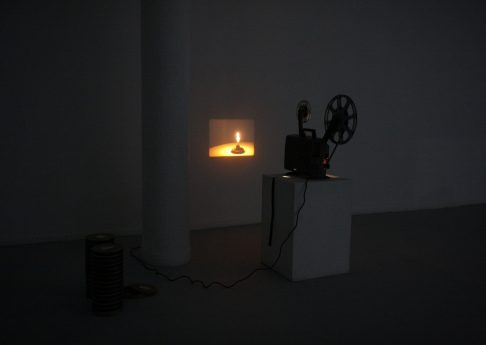 And Darkness Fell, 2010, Exhibition view