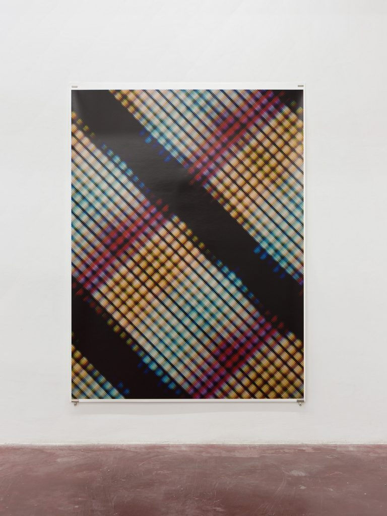 Blind [Il], 2015, archive inkjet print on rug paper, 213,5 x 160 cm, edition of 5 + 2AP