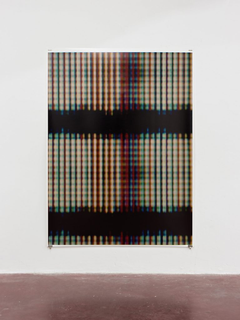 Blind [IIl], 2015, Archive Inkjet print on rag paper, 213,5 x 160 cm, edition of 5 + 2AP