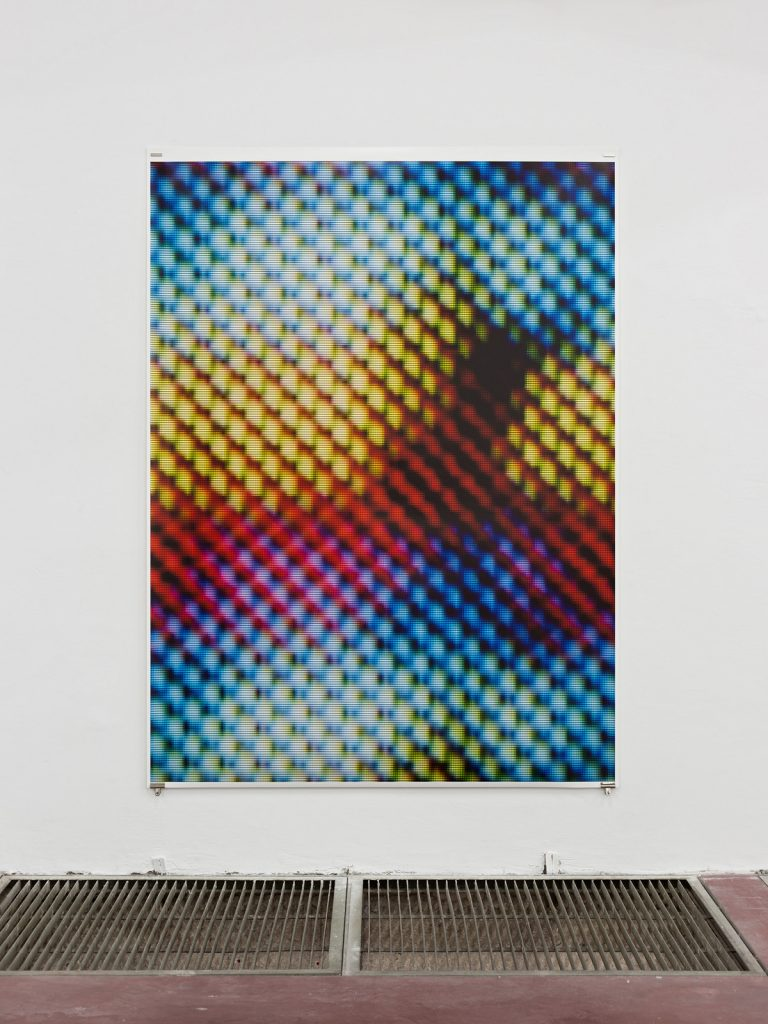 Blind [V], 2015, Archive Inkjet print on rag paper, 213,5x160cm, Edition of 5 + 2AP