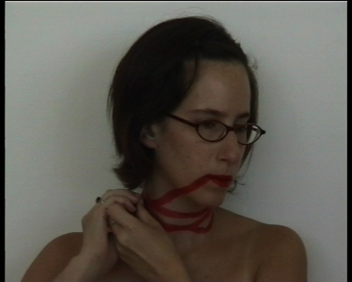 Nelly Agassi, Untitled (No Stepping Outside the Lines and No Touching the Floor) 1999, video 2:53 min, edition of 3 + 1AP