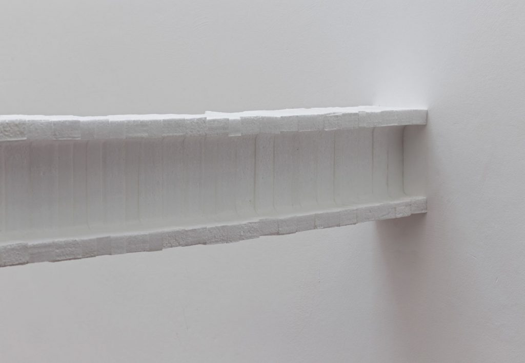Barak Ravitz, I, 2016, Foamed polystyrene boards, variable sizes, Unique