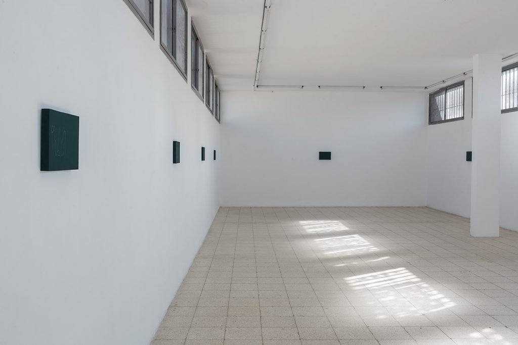 Florian Pumhosl, Formed Speech, 2016, Exhibition view