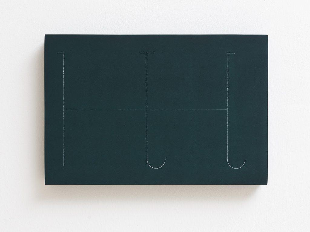 Florian Pumhosl, fidäl study, 2016, plaster, casein paint, pastel, 33.5 x 22.5 x 3 cm, unique