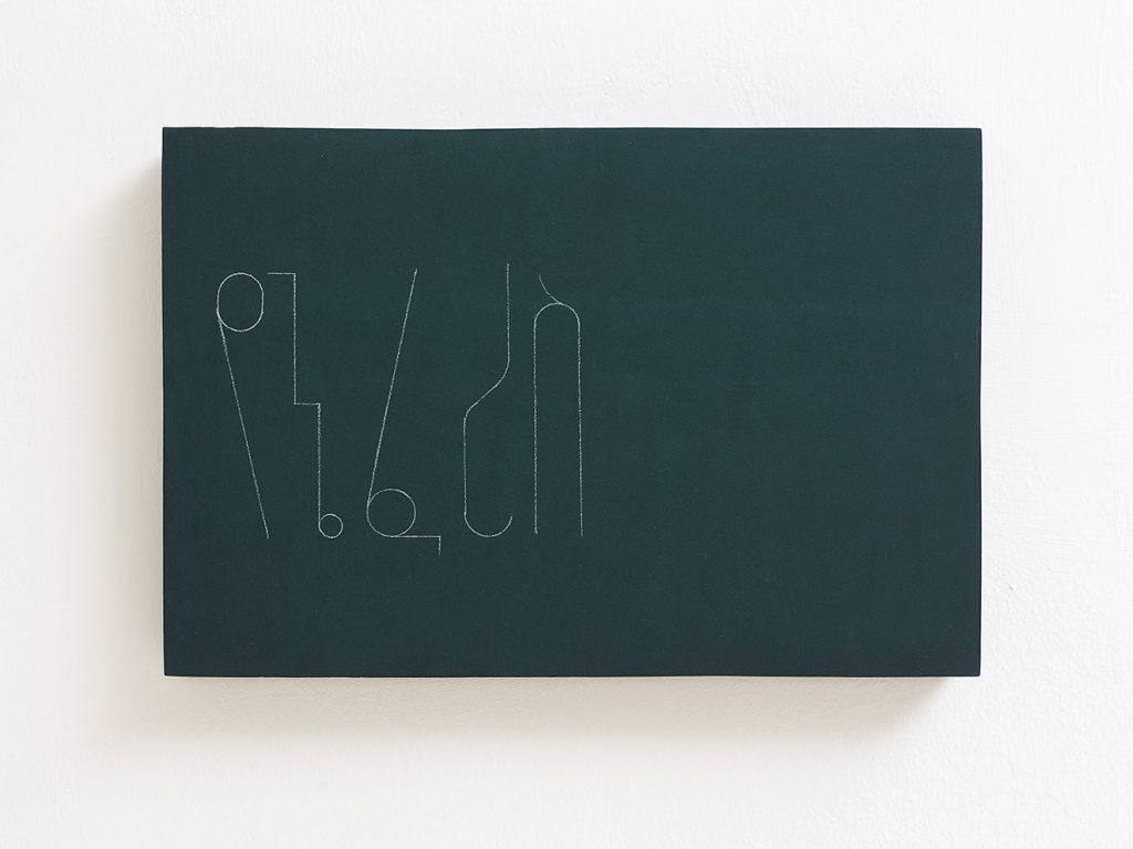 Florian Pumhosl, fidäl study (My horse), 2016, plaster, casein paint, pastel, 33.5 x 22.5 x 3 cm, unique