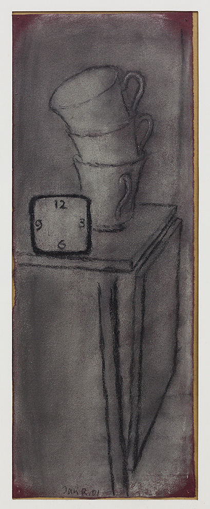 Jan Rauchwerger, Untitled, 2001, pastel on paper, 81x66 cm, Unique