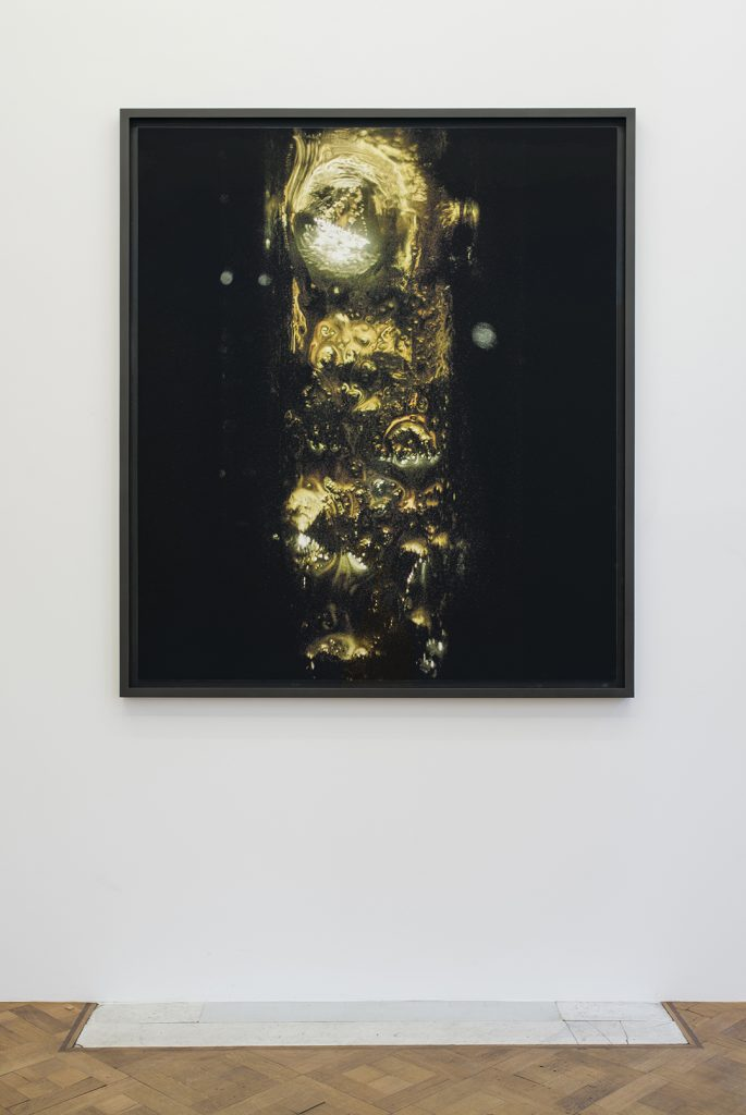 Melik Ohanian, Portrait of Duration — Cesium Series II T2553, 2016, Color photograph mounted on aluminium, 173 x 150 x 5 cm (framed), unique + 1 AP