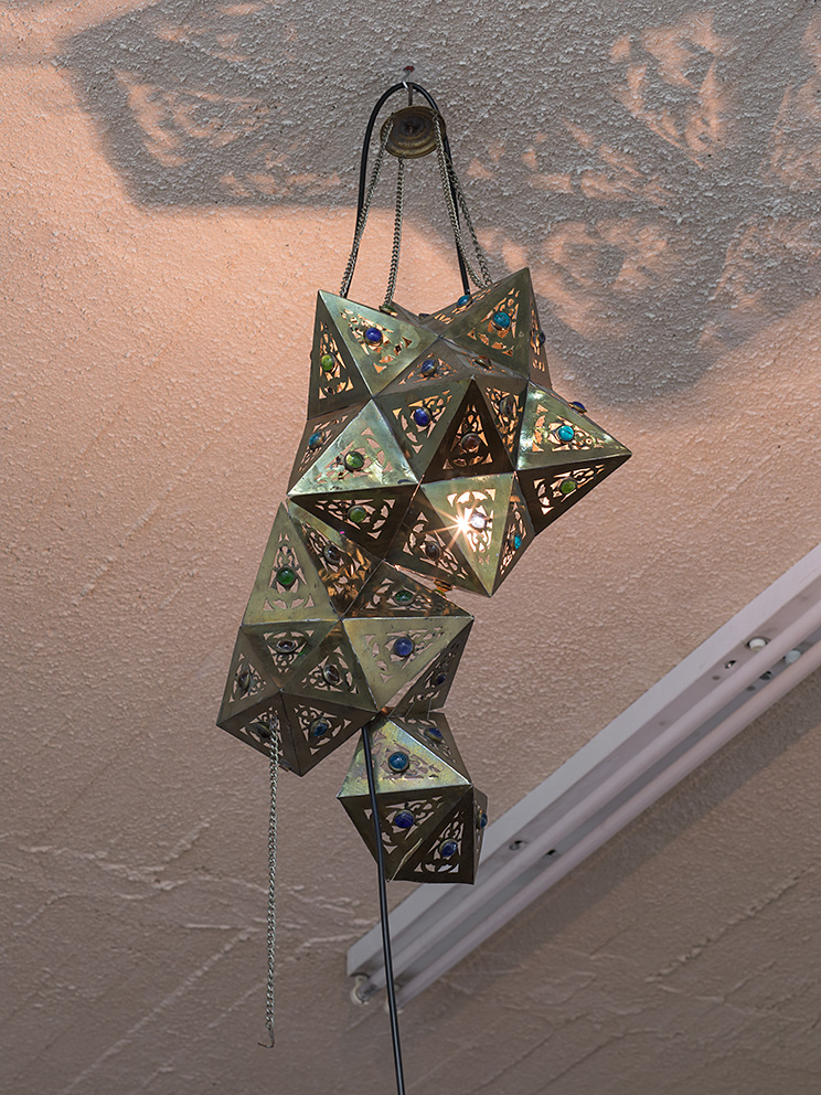Latifa Echakhch, Nova (c), 2017, antique lamp, variable dimensions, Unique
