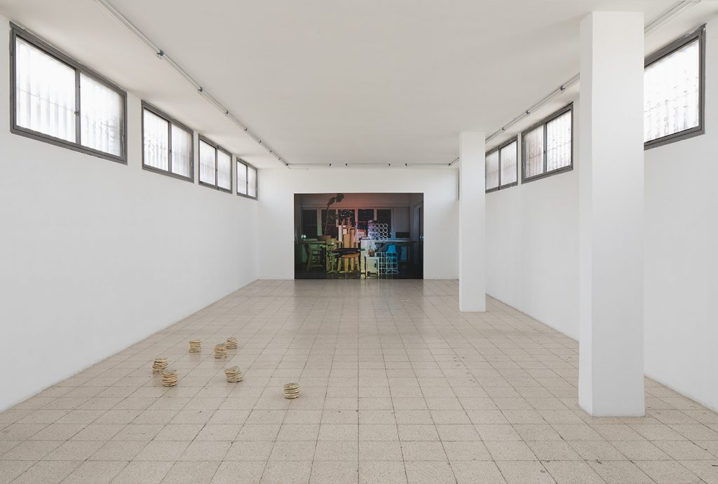 Latifa Echakhch and David Maljkovic, 2017, Exhibition view
