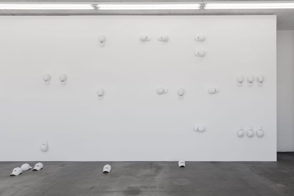 Sarah Ortmeyer, INTERNATIONALIS, exhibition view, Potts, Los Angeles, 2017
