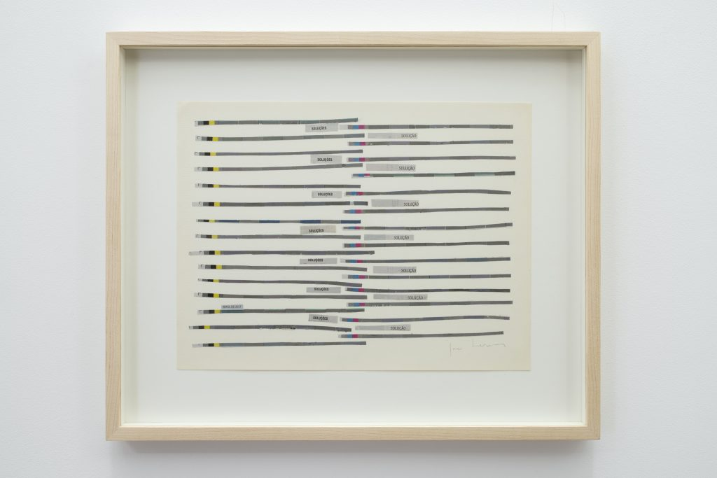 Jac Leirner, Soluçoes – Solução, 2017, mixed media, 44x36x3cm, Unique