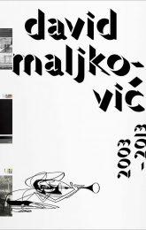 David Maljkovic_2003-2013_2014_Verlag fur modern kunst