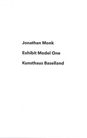 Jonathan Monk_Exhibit Model One_2016_Mark Pezinger Verlag