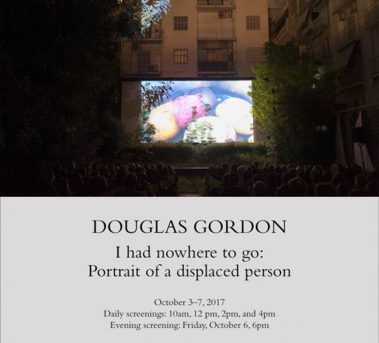 Douglas Gordon, I had nowhere to go, gagosian, london