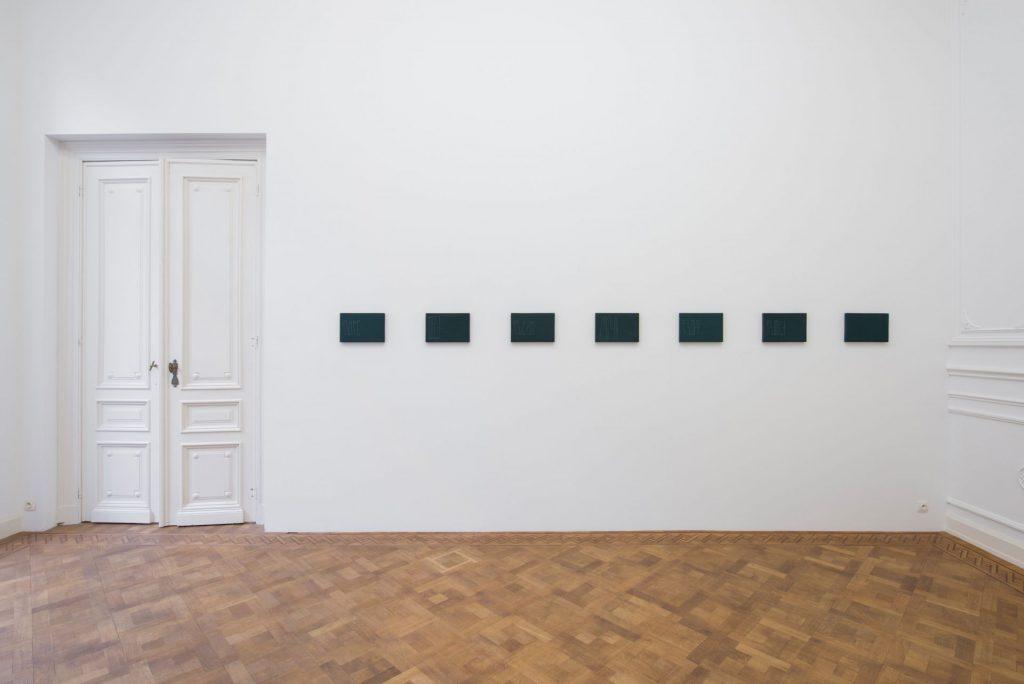 Florian Pumhösl, Fidäl Study, 2016, Plaster, Casein paint, pastel, 33,5x22,5x3cm each, Unique