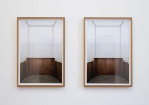Moshe Ninio, Glass I, 2010 -11, Photograph, inkjet print in MDF frame, two units, 110x77cm, unique