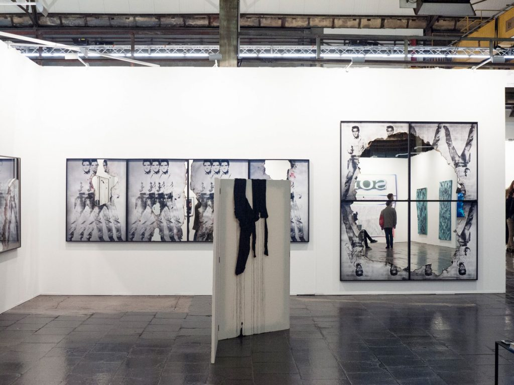 Art Düsseldorf, 2017, Booth view