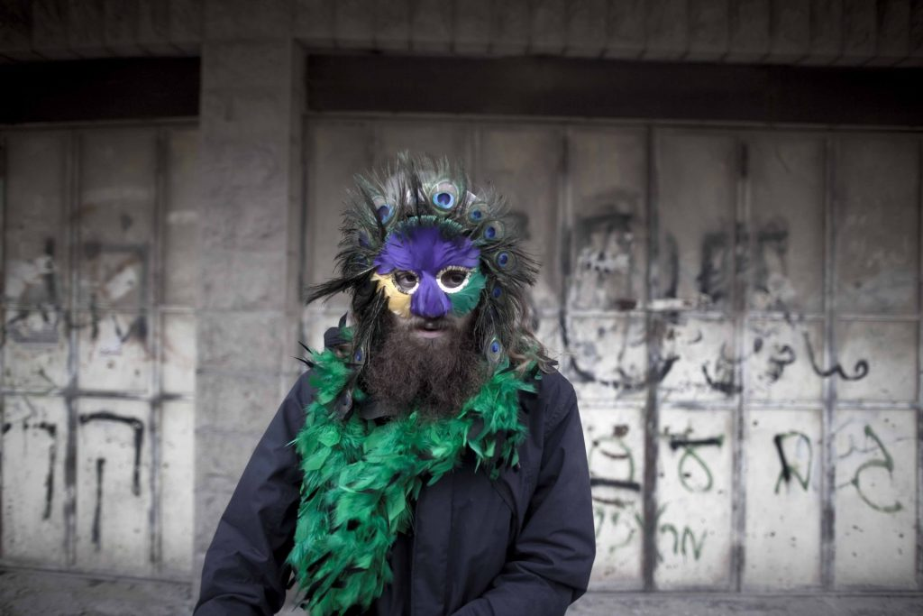 Pavel Wolberg, Hebron (Purim), inkjet print of colour photograph, 2010, 60 x 90 cm, edition of 5 + 2 AP