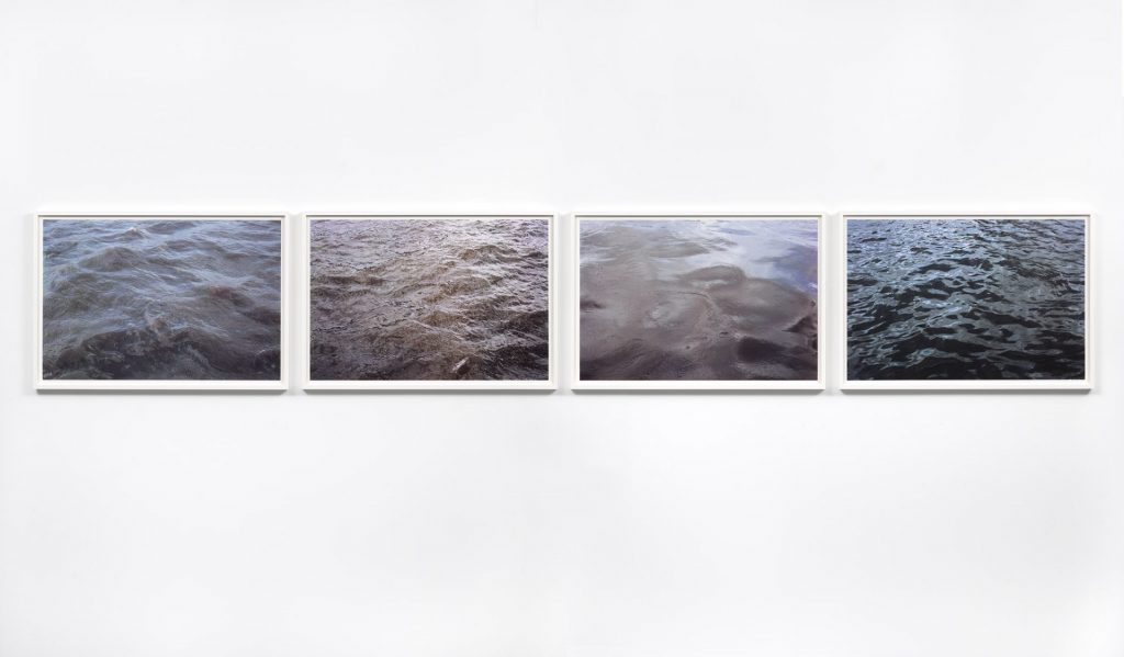 Roni Horn, From Some Thames, 2000, four units, photograph printed on paper, UV Lacquer, 72.4 x 103.5 cm (each), edition of 8