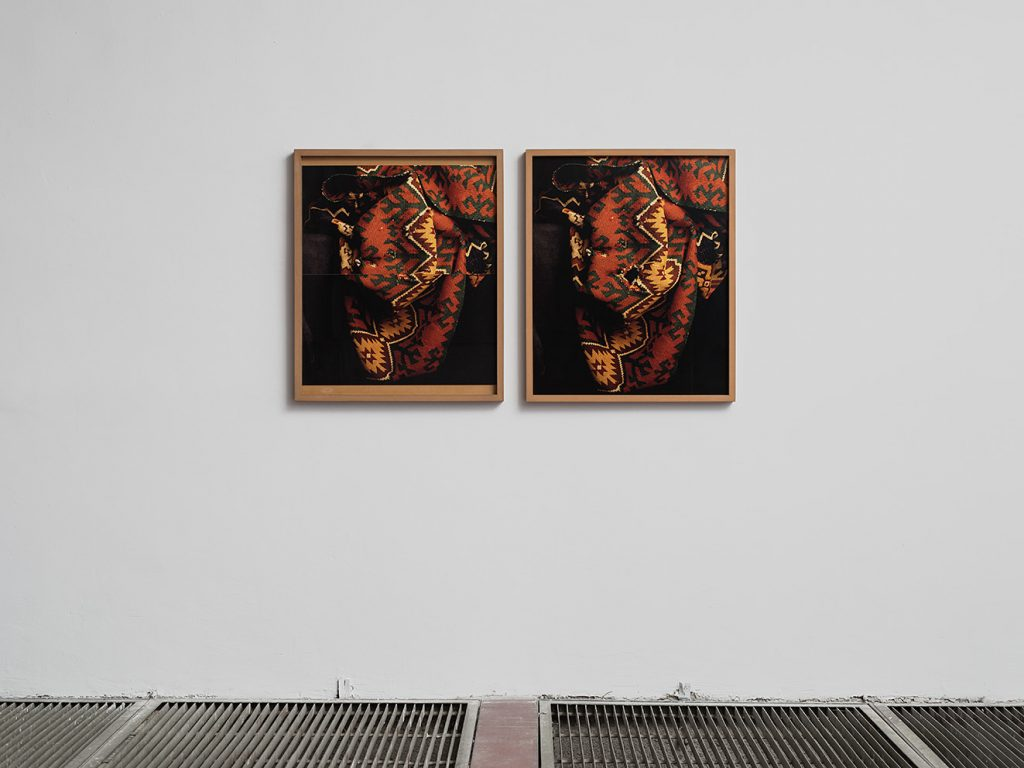 Moshe Ninio, Hole/Patch, 1991/2009, 85 x 70 cm each, photographs, inkjet prints, mdf frames, edition of 5