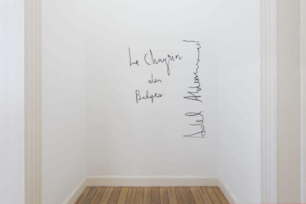Adel Abdessemed, Le Chagrin des Belges, 2018, Dvir Gallery Brussels