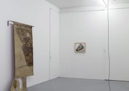 exhibition view, Miroslaw Balka & Latifa Echakhch, Antwerp Gallery Weekend, 2018