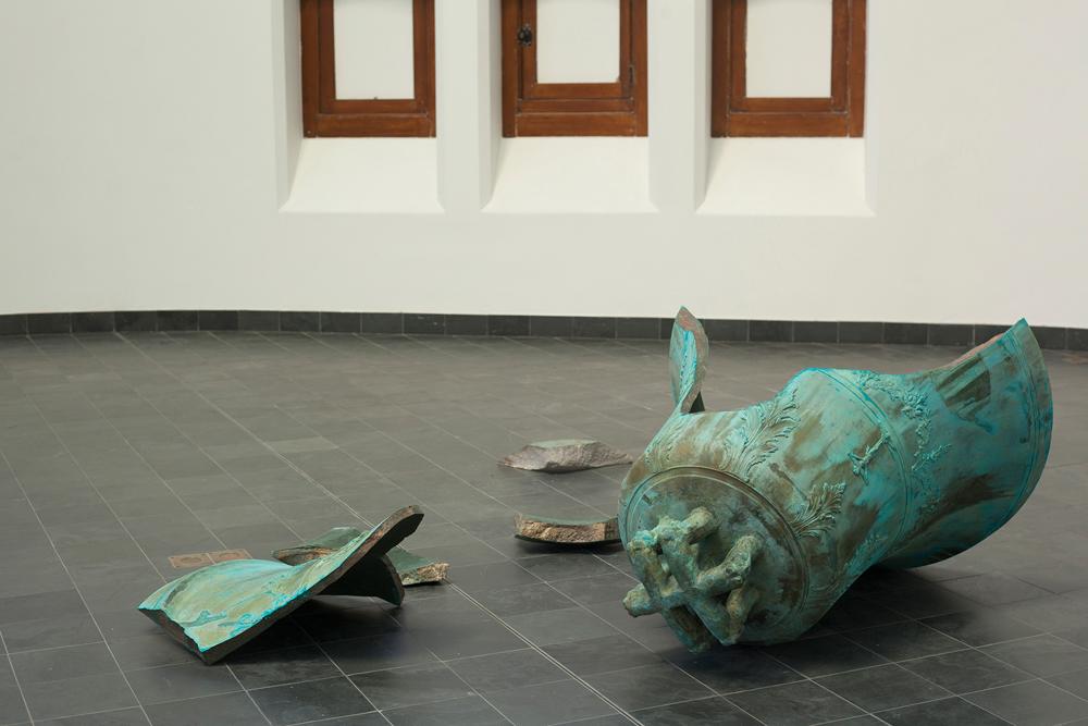 Latifa Echakhch, Forever Sol (3+50), 2018, bronze, variable dimensions, unique