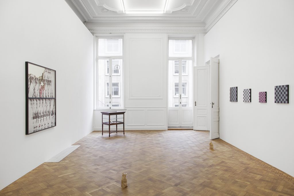 Group show, 2018, exhibition view, Dvir Gallery, Brussels