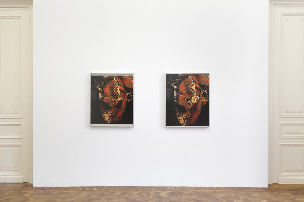 Moshe Ninio, Hole / Patch, 1992, 2 inkjet prints, 89.5 x 74.5 x 5 cm (each), edition of 5 + 2 AP